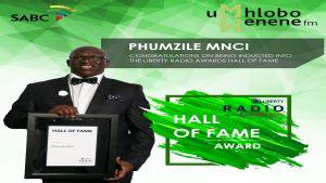 Mr Mnci Hall of Fame - UMHLOBOWENENEFM